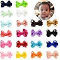 YHXX YLEN 20 Pcs Baby Girls Hair Bows Clips Hairpin Barrettes for Infant Toddlers