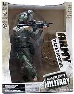 "McFarlane Toys 12"" Army Paratrooper"