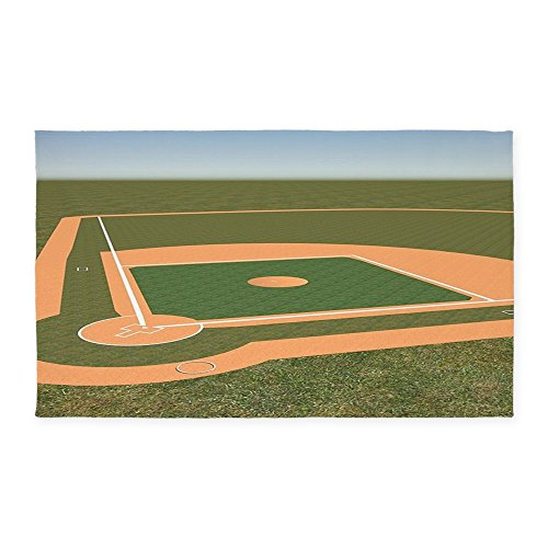 CafePress Baseball Field Decorative Fabric product image