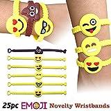 Emoji Designs Emoji Novelty Toy Rubber Wristband Bracelets
