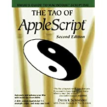 The Tao of Applescript/Book and 2 Disks