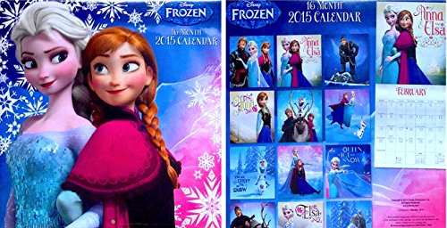 Disney Frozen 16 Month 2015 Calender Extremely Cute,10 X 10 In (Calendars 2015 Frozen)