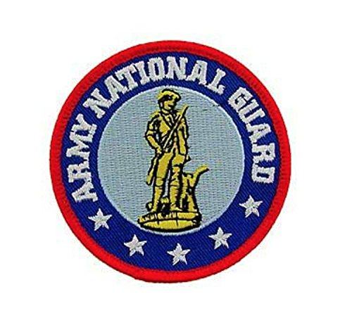 Army National Guard Iron On Patch 3