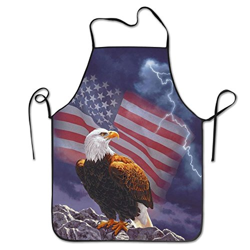 American Flag Eagle Aprons For Women/men Bib Save-all Barbecue Cooking Cloth Funny Chef Apron - American Eagle Apron