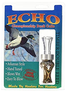 Echo Calls Diamonwood Timbers Double Reed Duck Calls