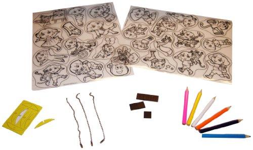 Dora The Explorer Crafts - Big Time Toys Dora Shrinky Dink Creativity Kit