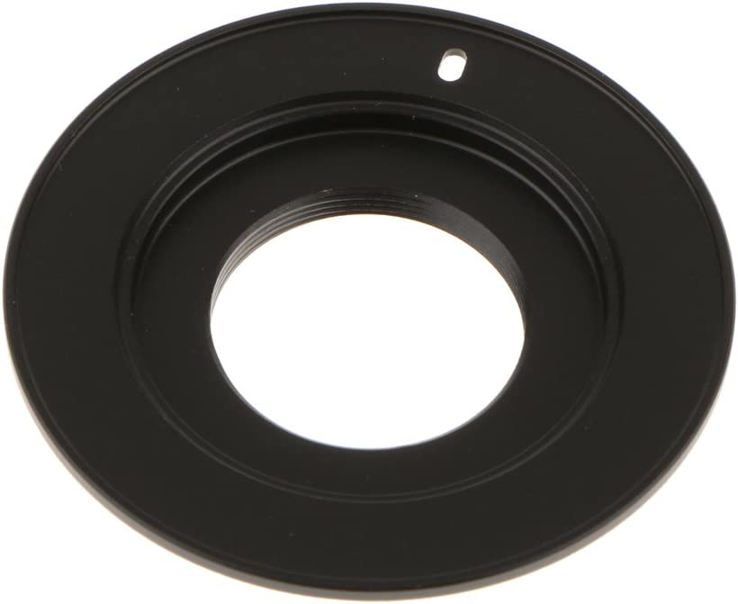 Lens Mount Adapter Ring Converter for C-Mount to Micro Four Thirds 4//3 Black