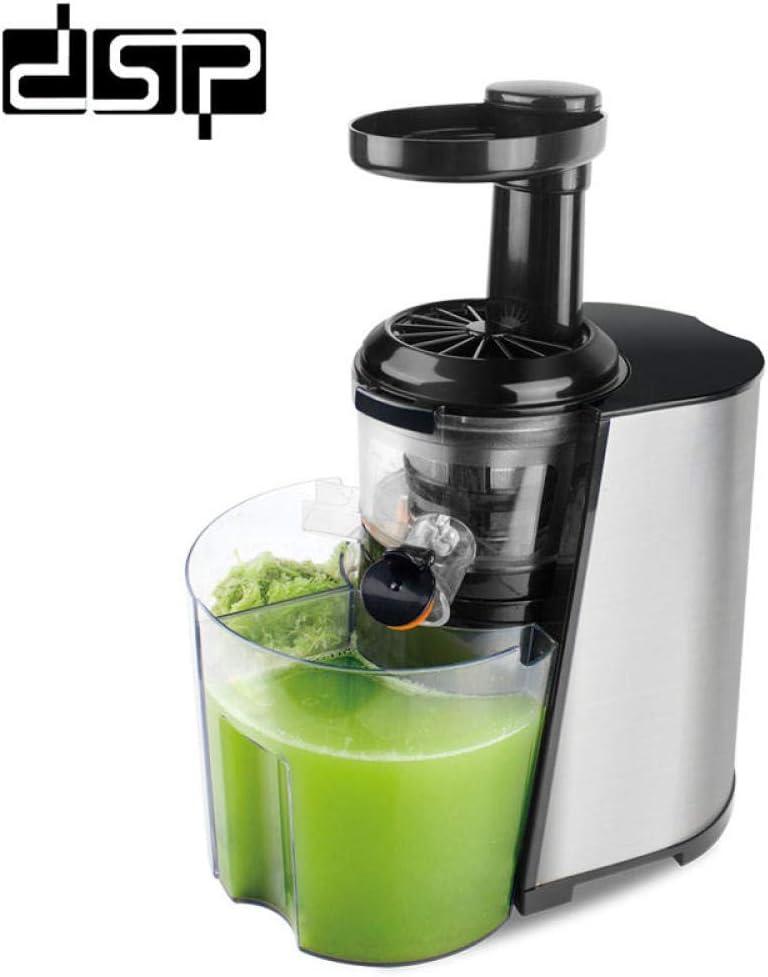 GONGFF Juicer,Home Professional Slow Juicer,Orange Juice Machine Simple to Make Juice Vegetable Juice Convenient and Fast 220-240V Sliver China UK 220V