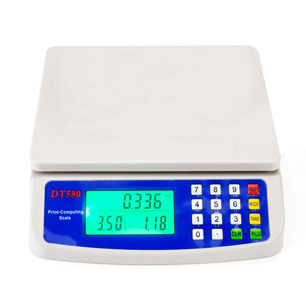 DT-580 30kg/1g Digital Vegetables Scale Commercial Price Scale for Food Meat Fruit Produce