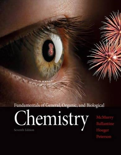 Fundamentals of General, Organic, and Biological Chemistry Plus MasteringChemistry with eText -- Access Card Package (7th Edition)