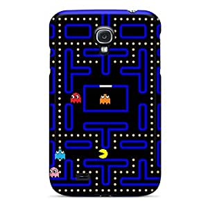 New Premium PaegEHj453Ykcsd Case Cover For Galaxy S4/ Pac Man Protective Case Cover