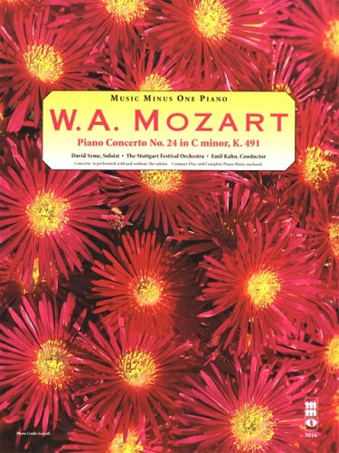 Mozart Concerto No. 24 in C Minor, KV491 (Music Minus One Piano) by Music Minus One