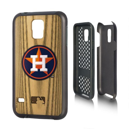 (MLB Houston Astros Rugged Series Phone Case Galaxy S17, One Size, One Color)