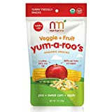 Nurturme Yum-A-Roo's Organic Toddler Snacks, Pea + Sweet Corn + Apple, 1 Ounce