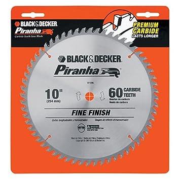 Black decker 77 770 piranha 10 inch 60 tooth atb saw blade with black decker 77 770 piranha 10 inch 60 tooth atb saw blade with greentooth Choice Image