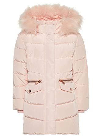 wholesale dealer 8323e 96d8a NAME IT Mini Mädchen Daunenjacke, Anorak, Winterjacke Mela mit Daunen in  rosa