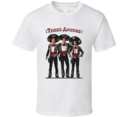 39a28d9e Amazon.com: The Three Amigos Retro 80's Movie T Shirt: Clothing