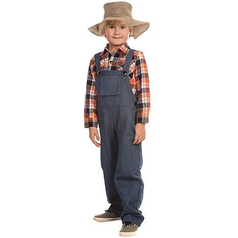 Dress Up America Costume Da Contadino Da Ragazzo Amazonit Giochi