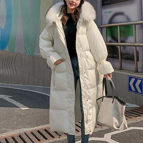 Y56 Manteau Noir Weiß Femme Small F8F7pw