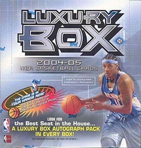2004 Topps Nba Basketball - 2004/05 Topps Luxury Box NBA Basketball HOBBY box