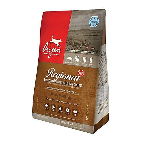 Orijen Freeze-Dried Regional Red Formula, Dog Food, 6 Ounces