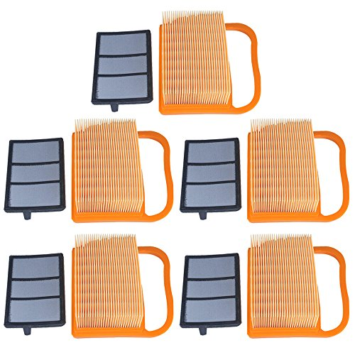 - Panari (Pack of 5) Air Filter + Pre Cleaner for STIHL TS410 TS420 TS410Z TS420Z Concrete Cut Off Saw