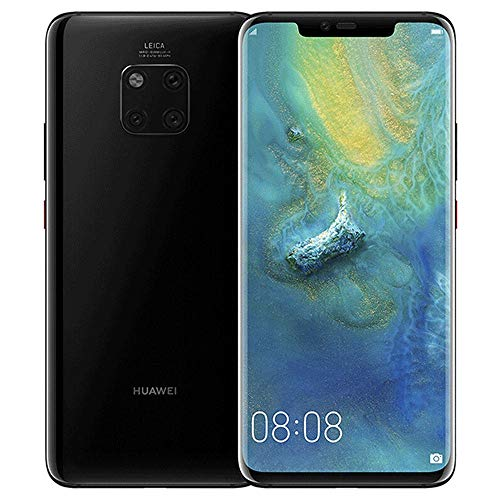 Huawei Mate 20 Pro LYA-L29 128GB + 6GB - Factory Unlocked International Version - GSM ONLY, NO CDMA - No Warranty in The USA (Black)
