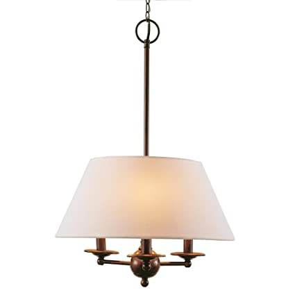 Amazon bel air lighting 3 light rubbed oil bronze chandelier bel air lighting 3 light rubbed oil bronze chandelier with linen shades mozeypictures Images