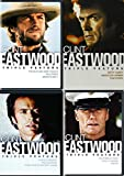 The Best of CLint Eastwood Twelve Movie Collection featuring Outlaw Josey Wales, Kelly's Heroes, Space Cowboys & Dirty Harry 12-DVD Bundle