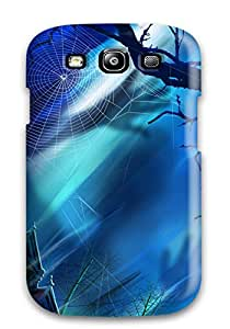 ZippyDoritEduard Scratch-free Phone Case For Galaxy S3- Retail Packaging - Halloween