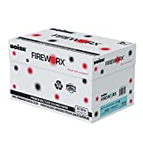 BOISE FIREWORX PREMIUM MULTI-USE COLORED PAPER, 8 1/2'' x 11'', Letter, Bottle-Rocket Blue, 20 lb., 5000 Sheets/Carton
