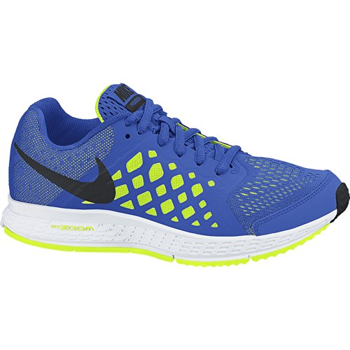 Nike Boy's Zoom Pegasus 31 Running Shoe (1Y-7Y) Hyper Cobalt/Volt/White/Black Size 6.5 M - Zoom 31 Pegasus Nike Blue