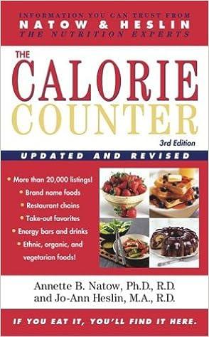 Livres électroniques gratuits à télécharger The Calorie Counter: 3rd Edition (French Edition) PDF iBook