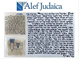 Premier Quality Strict Kosher Mehadrin Mezuzah Scroll Parchment Klaff - 2.5 X 2.5 Inches