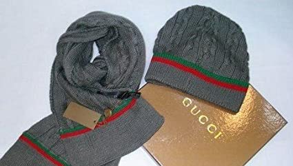 Amazon.com   New Authentic Gucci Beanie and Scarf   Other Products ... 67e0f30b0ce