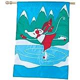 Premier Kites 52559 House Applique Flag, Snow Princess, 28 by 40-Inch For Sale