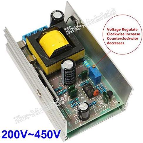 DC 12V-24V Step up to 200V-450V 220V High Voltage Boost Converter Power Module