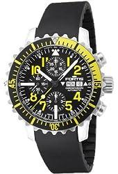 Fortis Mens Watch Maritim B-42 Marinemaster Chronograph Yellow Automatic 671.24.14 K