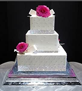 edible gold wedding cake decorations edible 40 sugar diamonds cake decoration wedding cake cake 13907