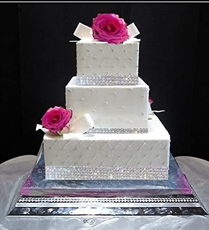 Edible 40 Sugar Diamonds Cake DecorationWedding CakeCake Decorating