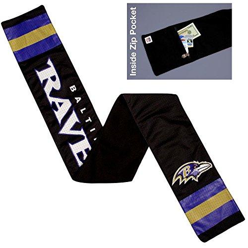 - NFL Baltimore Ravens Jersey Scarf