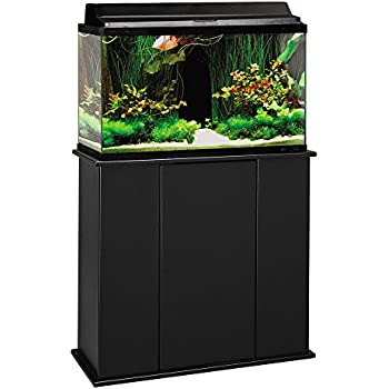 Aqueon forge metal aquarium stand 30 by 12 for 37 gallon fish tank