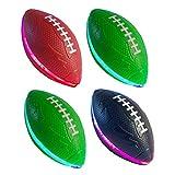 "Muahahaaa Light-UP 7"" Football (4 Pack) Indoor/Outdoor Youth Size"