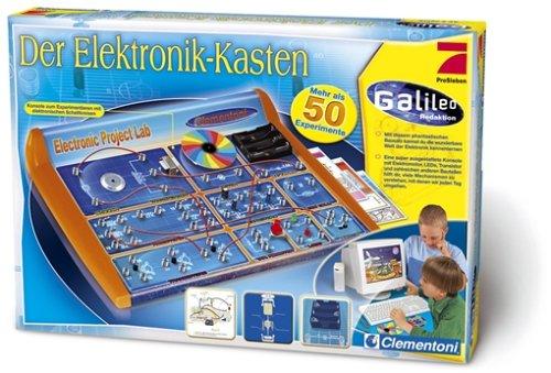 Clementoni 5691371 - Galileo - Der Elektronik-Kasten