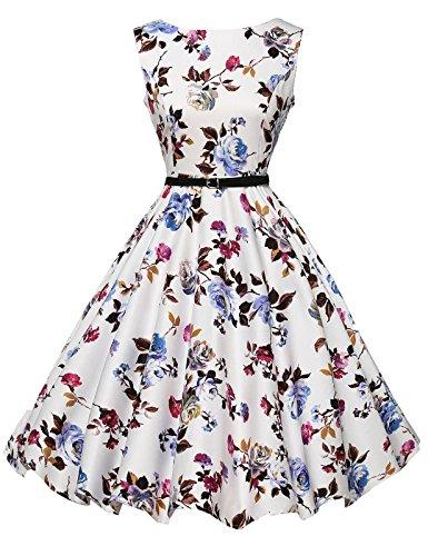 Open Back Boatneck Dress - 3