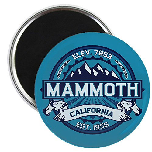 CafePress - Mammoth Ice - 2.25' Round Magnet, Refrigerator Magnet, Button Magnet Style