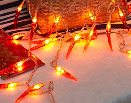 Chili Pepper Outdoor String Lights - 1
