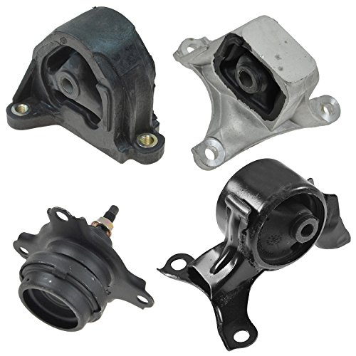 Engine Manual Transmission Motor Mount Kit Set of 4 for Civic Si RSX 2.0L MT ()