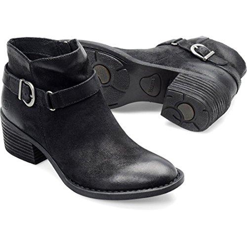 Born Women's Adia Black Distressed - Born Womens Boots