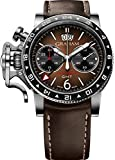 Brown Graham Watch Chronofighter Vintage GMT 2CVBC.C01A.L126S